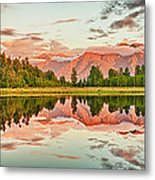 Matheson Lake Metal Print