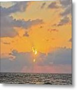 Mediterranean Sunset Metal Print