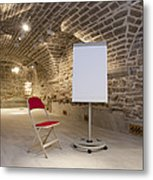 Meeting Rooms Vaulted Ceilings Metal Print by Jaak Nilson