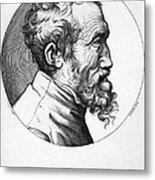Michelangelo (1475-1564) Metal Print by Granger