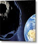 Near-earth Asteroid, Artwork Metal Print