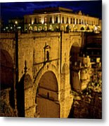 New Bridge In Ronda Metal Print