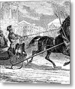 Nicholas I (1796-1855) Metal Print
