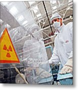 Nuclear Fuel Assembly, Russia Metal Print