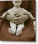 Old Doll Metal Print by Joana Kruse