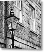Old Sugg Gas Street Lights Converted To Run On Electric Lighting Aberdeen Scotland Uk Metal Print
