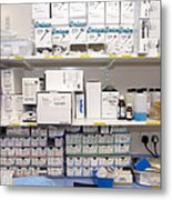 Operating Theatre Supplies Store Metal Print