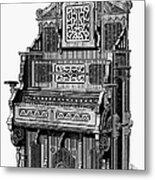 Organ, 19th Century Metal Print