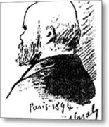 Paul Verlaine (1844-1896) Metal Print