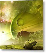 Planets In The Orion Nebula Metal Print