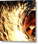Playing With Fire Metal Print