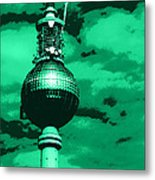 Pop Art Berlin Metal Print by Falko Follert