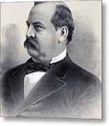 President Grover Cleveland Metal Print by International  Images