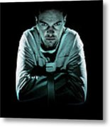 Psychiatric Patient Metal Print by Kevin Curtis
