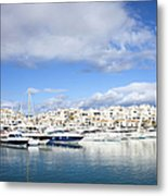 Puerto Banus In Spain Metal Print