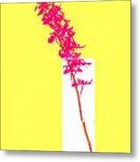 Purple Orchid Bunch Metal Print