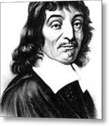 Ren� Descartes, French Polymath Metal Print