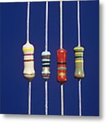 Resistors Metal Print