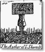 Richard Steele (1672-1729) Metal Print