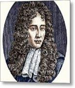 Robert Boyle, Irish Chemist Metal Print