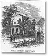 Robert Fulton (1765-1815) Metal Print
