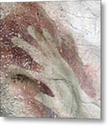 Rock Painting, Timor-leste Metal Print