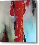 Rojo Metal Print
