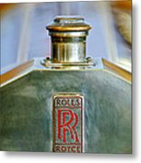 Rolls-royce Hood Ornament Metal Print