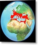 Roman Empire, Artwork Metal Print by Gary Hincks