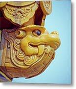 Roof Of Forbidden City Metal Print