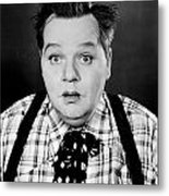 Roscoe Fatty Arbuckle Metal Print