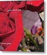 Rose For You  Metal Print