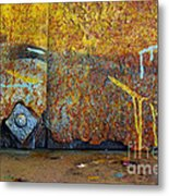 Rust Colors Metal Print