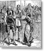 Salem Witch Trial, 1692 Metal Print