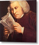 Samuel Johnson, English Author Metal Print by Photo Researchers