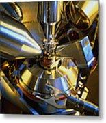 Scanning Electron Microscope Metal Print
