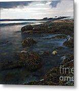 Sea At Sunset Metal Print