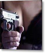 Sex And Crime Metal Print