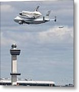 Shuttle Enterprise Metal Print