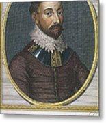 Sir Francis Drake, English Explorer Metal Print