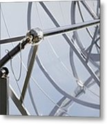 Solar Parabolic Mirrors, Cologne, Germany Metal Print