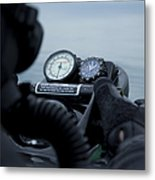 Special Operations Forces Combat Diver Metal Print