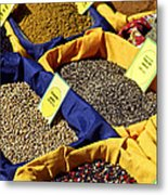 Spices On The Market Metal Print