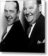 Stan Laurel, Oliver Hardy Laurel & Hardy Metal Print by Everett