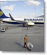Stansted Airport Metal Print