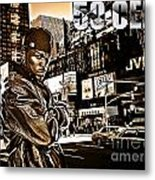 Street Phenomenon 50 Cent Metal Print