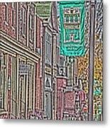 Streets Of Bel Air Metal Print