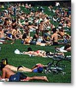 Summer In Central Park Metal Print