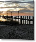 Sunset Cape Charles Virginia Metal Print