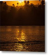 sunset santa Barbara Metal Print